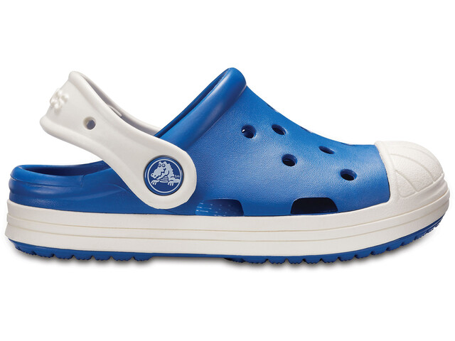 Crocs Bump It - Sandales Enfant - bleu/blanc